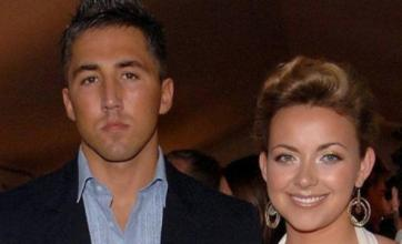 Charlotte Church supporting Gavin Henson on Strictly