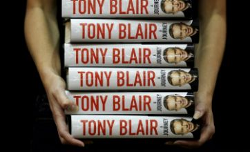 Tony Blair: A taste of Cherie gave me strength