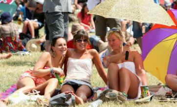 Summer sun is back for Britons – but only for one weekend