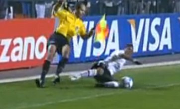 Best of the Web videos: A wheelchair backflip & Robbie Savage's on-air row