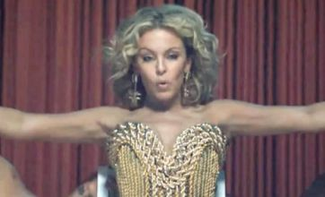 Kylie Minogue's Get Outta My Way video released