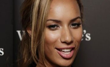 Is Leona Lewis bleedin' in love again?