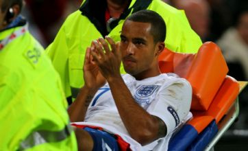 Theo Walcott 'could be out for two weeks' after England injury