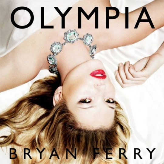 Kate Moss appears on front of Bryan Ferry's latest album cover, Olympia