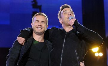 Robbie Williams and Gary Barlow wow at Help for Heroes gig