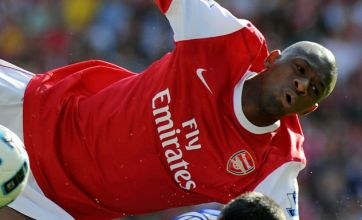 Wenger sweating over Diaby injury