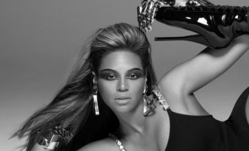 Beyoncé hits the catwalk at secret Tom Ford show