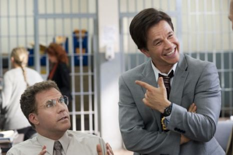 Will Ferrell (left) and Mark Wahlberg in The Other Guys
