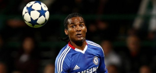 Forward thinking: Florent Malouda is already planning a Champions League final at Wembley for Chelsea (Picture: Reuters)