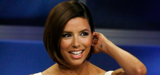 Relaxed: Desperate Housewives star Eva Longoria Parker