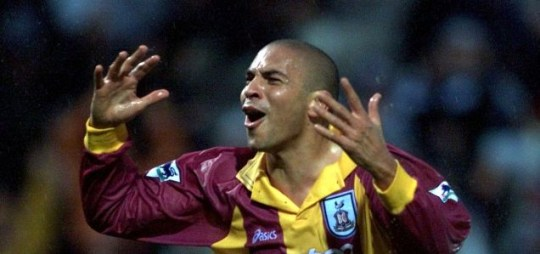Stan Collymore during his playing days.