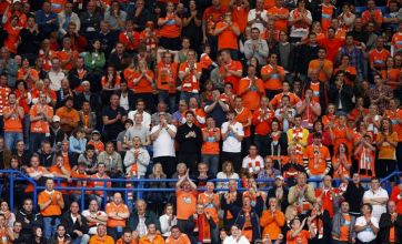 Blackpool's fans are game for travelling to support their team