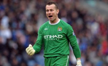 Shay Given 'to choose between Celtic and Arsenal'