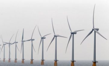 Largest wind farm in world – costing £780million – is switched on