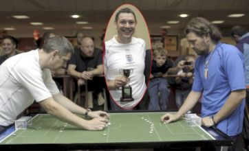 England win World Cup, beating Italy on penalties… at Subbuteo