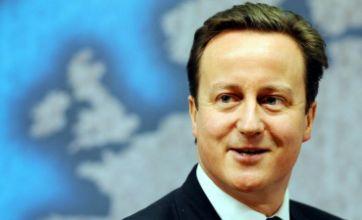 David Cameron's baby 'sleeps in cardboard box'