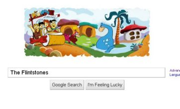 The Flintstones' 50th anniversary celebrated with Google Doodle