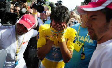Alberto Contador tests positive for clenbuterol during Tour de France