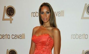 Leona Lewis steals the show at $2m Roberto Cavalli show