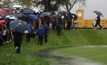 Ryder Cup set for Monday finish after new rain delay