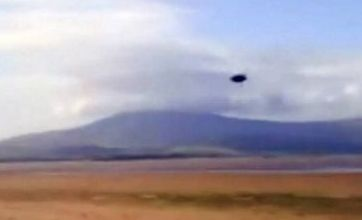 UFO in Cumbria – or just a blot on the landscape?