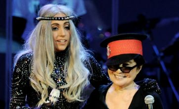 Lady Gaga goes gaga for Yoko Ono