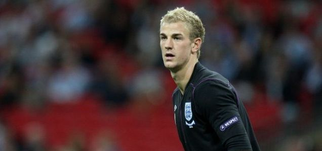 Under pressure: England's Joe Hart is set to face Montenegro