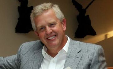 Colin Montgomerie heads home after Ryder Cup victory party