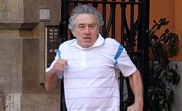 Robert De Niro goes on the run after Monica Bellucci