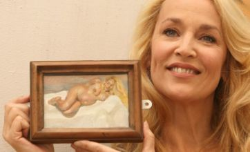 Jerry Hall's naked ambition with art auction
