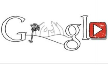 John Lennon Google Doodle for late Beatle's 70th birthday