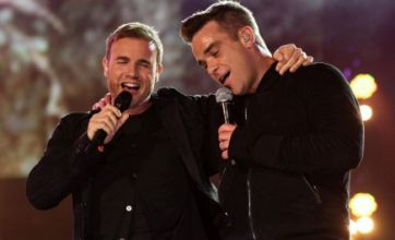 Robbie Williams and Gary Barlow beaten by Cee Lo Green in chart battle
