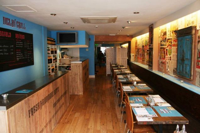Outrageously good: The food at Islington's Delhi Grill is a joy