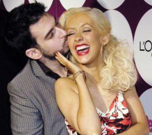 Singer Christina Aguilera has broken up with her husband Jordan Bratman, according to speculation (Reuters)