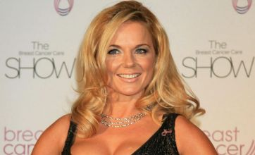 Geri Halliwell first to visit pal George Michael