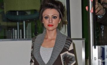 X Factor's Cher Lloyd takes the time to sign autographs
