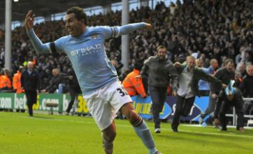 Manchester City second as Carlos Tevez towers over Blackpool
