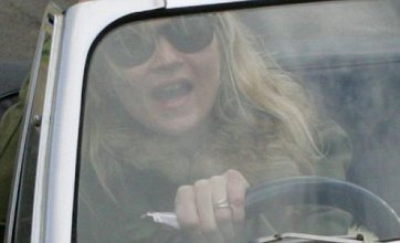 Kate Moss spotted with 'wedding ring'
