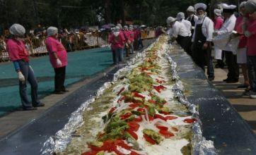 World's longest enchilada measures in at 230ft