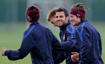 Arsene Wenger to take gamble on fit-again Fabregas