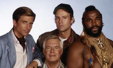 Cult: The A-Team was turned into a Holly-wood movie this year Picture: Rex