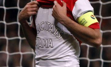 Cesc Fabregas T-shirt reveals mum birthday message