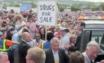 Has Banksy outed himself in Glastonbury Prince Charles video?