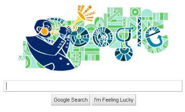 Dizzy Gillespie's birthday celebrated with jazzed up Google Doodle