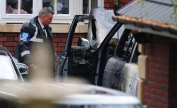 Andy Carroll's car torched on Kevin Nolan's drive