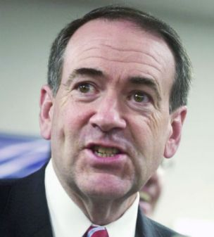 Republican Mike Huckabee gets tough (AP)