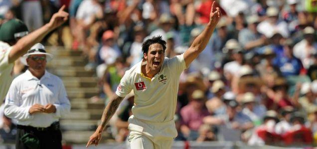 Australian bowler Mitchell Johnson