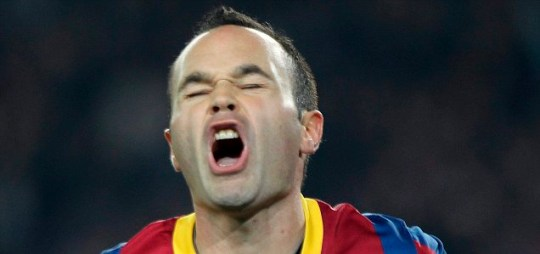 FC Barcelona midfielder Andres Iniesta is another high-profile Man City target (EPA)