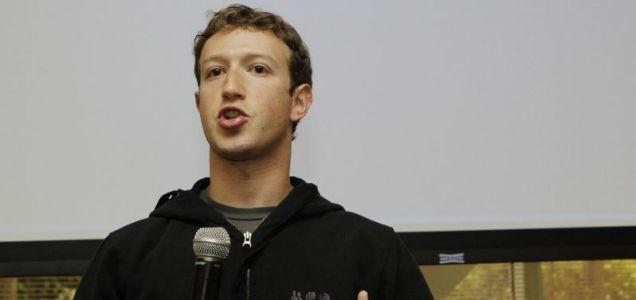 Facebook CEO Mark Zuckerberg: new investments put Facebook's total worth at $50billion