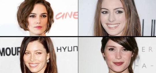 Keira Knightley, Anne Hathaway, Jessica Biel and Gemma Arterton